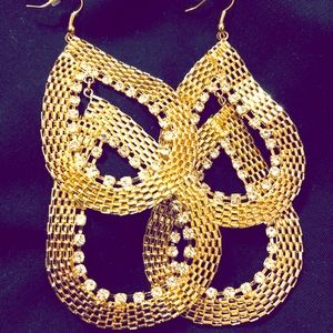 Jewelry - Snake & Diamonds Earrings